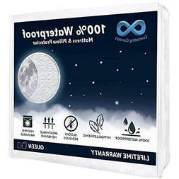 100 percent waterproof mattress protector queen