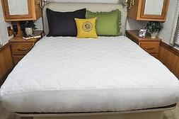 AB Lifestyles Short Queen Mattress Pad USA MADE Mattress Cov