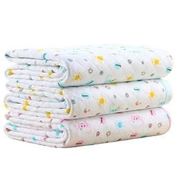 Baby Kid Waterproof Changing Pads - Breathable Mattress Pad