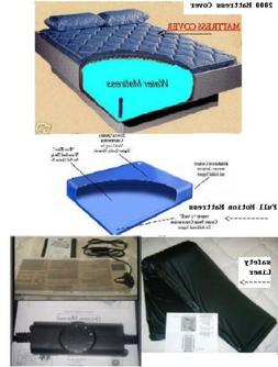 California King Free Flow Waterbed Mattress with Zipper Matt