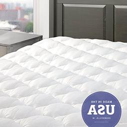 Five Star Mattress Pad with Fitted Skirt - Hypoallergenic M