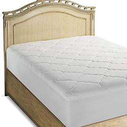 Micropuff - Down Alternative Mattress Pad - Fitted Style - F