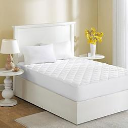 Sleep Philosophy Wonder Wool Mattress Cover, King, White