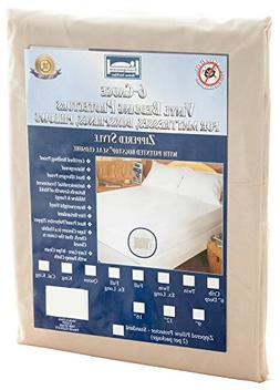 The Allergy Store Zippered Vinyl Mattress Cover, 6 Gauge, 9""