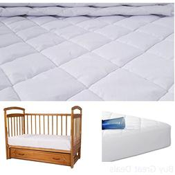 Utopia Bedding Waterproof Crib Mattress Protector - Breathab