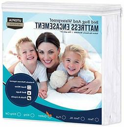 Utopia Bedding Zippered Mattress Encasement - Bed Bug Proof,