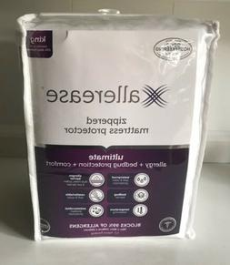 Aller-ease Ultimate Zippered Mattress Protector King Size Bl