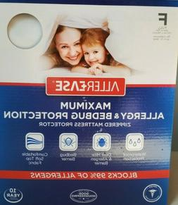Allerease mattress protector full