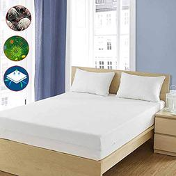 Pristine Luxury Allergy Proof Mattress Cover - Fits Californ