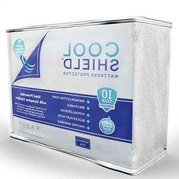 Cool Shield No Allergy Waterproof Mattress Protector - Breat