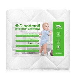 Adoric Baby Waterproof Crib Mattress Pad Cover, Premium Hypo