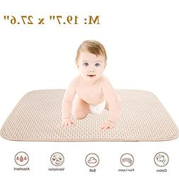 Baby Waterproof Mattress Crib/Bed Pads Organic Cotton Incont