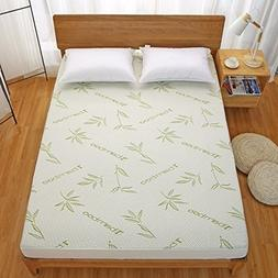 Linens And More Bamboo Blend Waterproof Soft Hypoallergenic