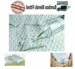 BAMBOO MATTRESS PROTECTOR Twin Full Queen King Size Waterpro
