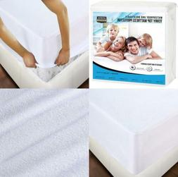 California King Mattress Cover Waterproof Hypoallergenic Bed