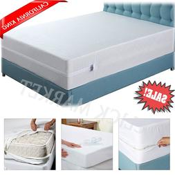 CALIFORNIA KING MATTRESS Encasement Protector Zippered Bed B
