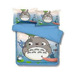 Cartoon My Neighbor Totoro Bedding Sets - Sport Do Ultra Sof