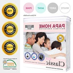 Papahome Classic Hypoallergenic Mattress Protector - Lab Tes