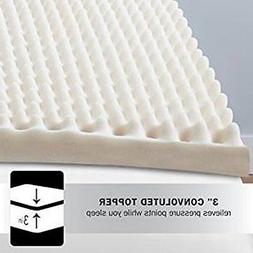 "New Beautyrest 3"" Convoluted Foam Mattress Topper, Twin"