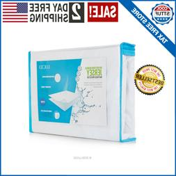 Cooling Full Size Mattress Pad Protector Comfort Relax Water