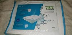 LUCID Cotton Bamboo Fitted Mattress Protector Cover - Waterp