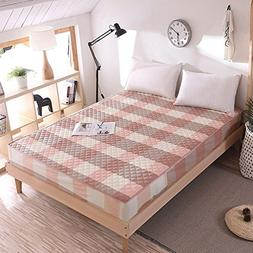 SL&CL Cotton bed cover,Single piece fabric sides padded quil