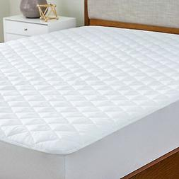 Deep Pocket Mattress Protector Microfiber Quilted Pad Fit Hy