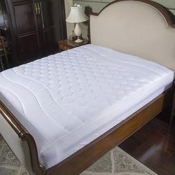 Deep Pocket Mattress Protector Quilted Pad Hypoallergenic An