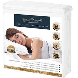 DELUXE BED BUGS Mattress Protector KING