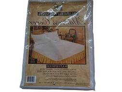 Better Home Deluxe Fitted Mattress Cover, Waterproof, Twin S