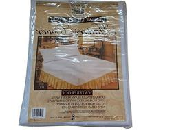 Better Home Deluxe Fitted Mattress Cover, Waterproof, Full S