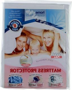 Full Size Zippered Mattress Protector Waterproof Hypoallerge