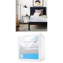 LUCID 6 Inch Gel Infused Memory Foam Mattress - Firm Feel -
