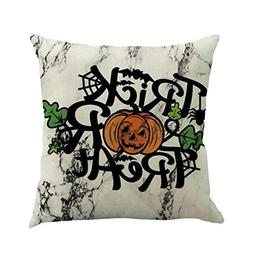 Kasenxet Happy Halloween Party 45cmX45cm Pillow Cases Happy