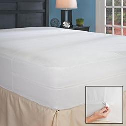 Queen Hypoallergenic Bed Bug Mattress Cover with Auto-Lockin