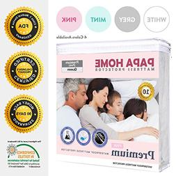 Papahome Premium Hypoallergenic Mattress Protector - Lab Tes