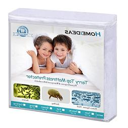 HOMEIDEAS Twin XL Mattress Protector 100% Waterproof Mattres