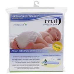 Luna Premium Hypoallergenic Waterproof Crib Mattress Protect
