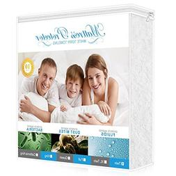 hypoallergenic waterproof mattress protector twin