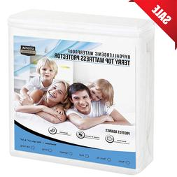 Utopia Bedding Hypoallergenic Waterproof Mattress Protector