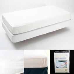 King Size Fitted Mattress Cover Vinyl Waterproof Bed Bug All
