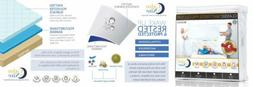 CALM NITE King Size Mattress Pad Protector - Waterproof & Hy