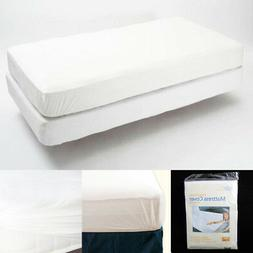 King Size Fitted Mattress Cover Vinyl Waterproof Bug Allergy