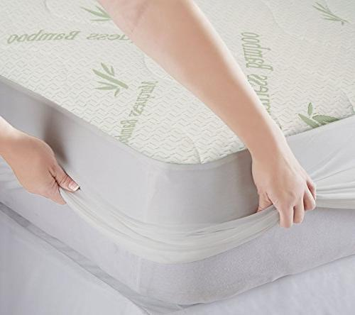 MARQUESS Comfortable Mattress Deep Pocket Cover 10 Years
