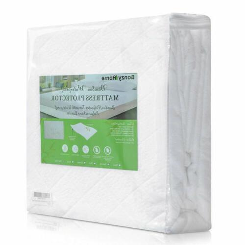 Bamboo Premium Hypoallergenic Fitted Bed Cover