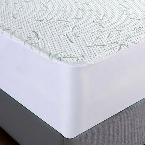 BAMBOO MATTRESS Full King Size Waterproof Cover