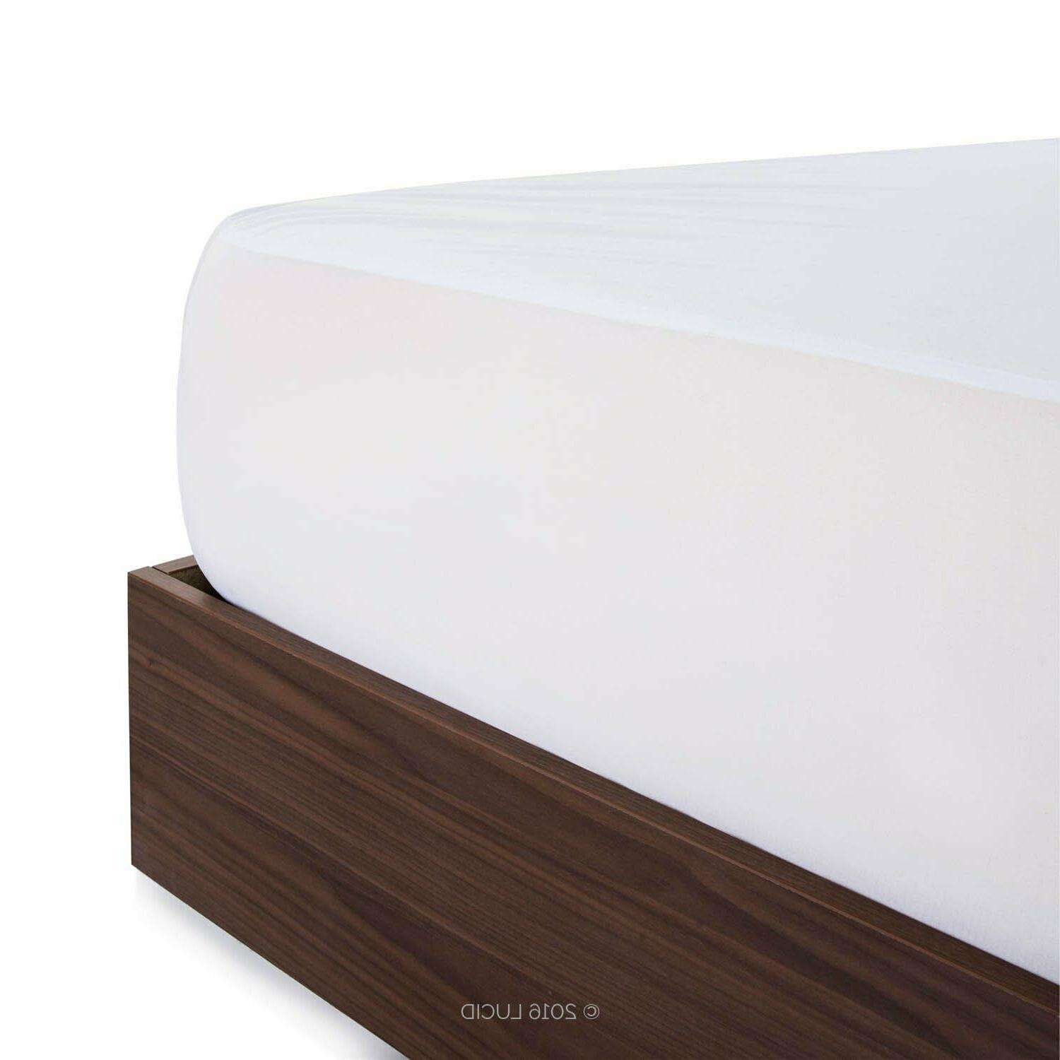 BAMBOO PROTECTOR Soft Hypoallergenic Fitted Queen Size