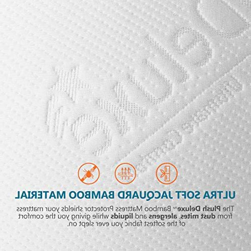 PlushDeluxe Protector & Bed Mattress Cover Phthalate