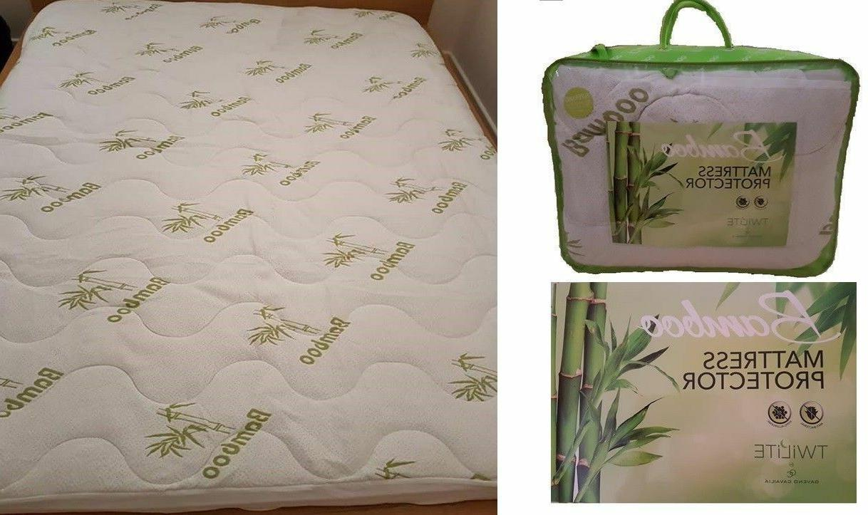 brand new bamboo waterproof supersoft mattress protector