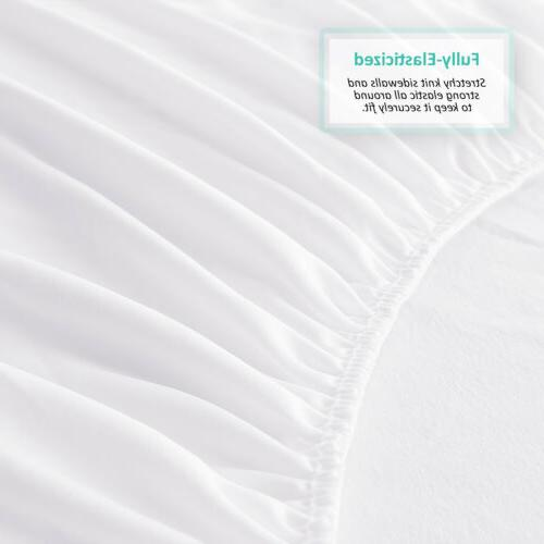Cotton Hypoallergenic Mattress Protector Fitted Cover